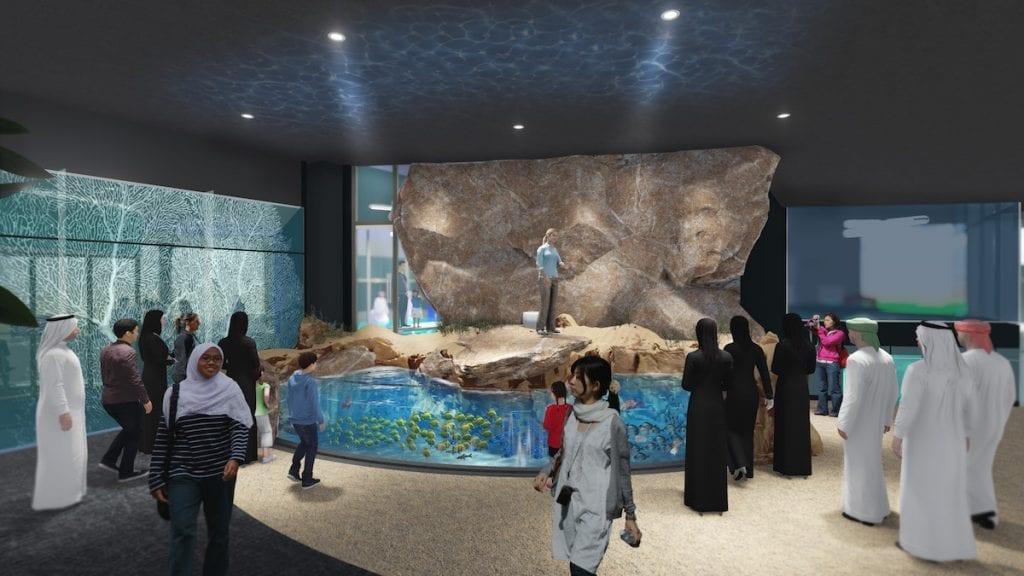 oman aquarium palm mall