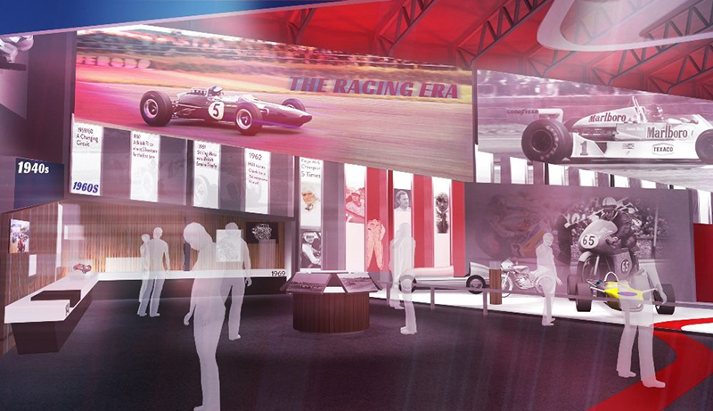 silverstone heritage experience concept