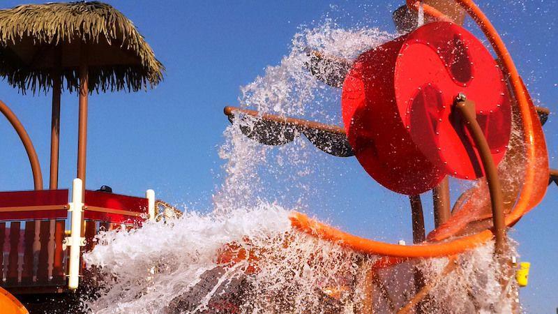 splash aquatic play vortex DoubleTree by Hilton Resort & Spa Marjan Island