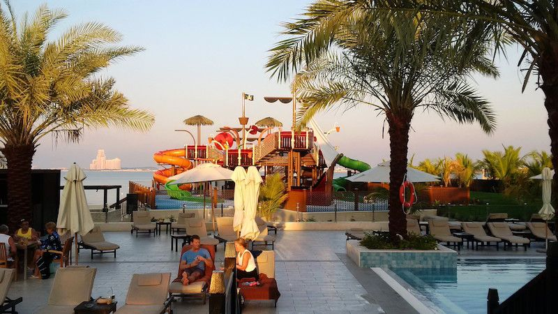 sunset aquatic play double tree by hilton vortex