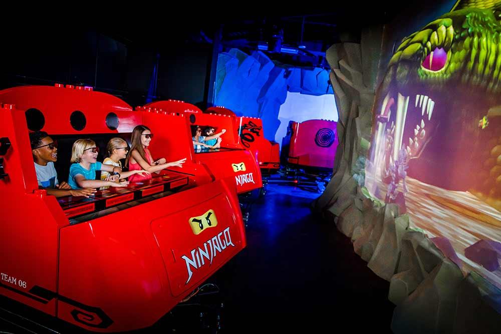 NINJAGO Ride Triotech Opens at LEGOLAND Florida Resort