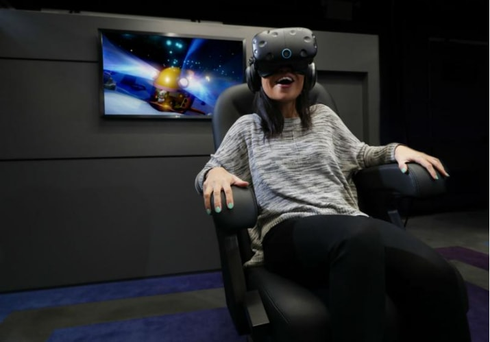 D-Box Technologies' Motion Seats Immerse Guests in IMAX VR Experience