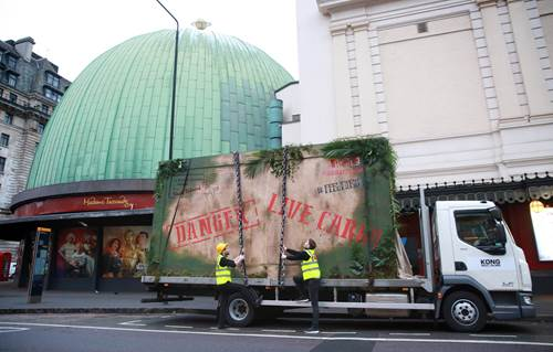 KONG: Skull Island Monster Delivery at Madam Tussauds New York and London