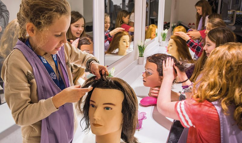 KidZania London hairdressers