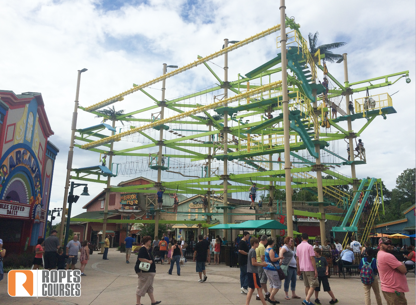 Sky Trail ropes course
