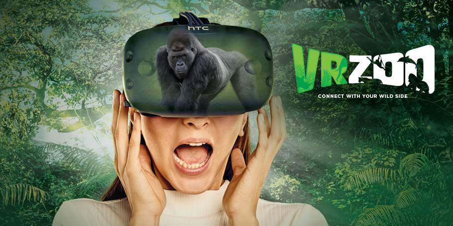 VRZOO Emaar Entertainment, Dubai Aquarium and Wevr Launch Virtual Reality Zoo Experience