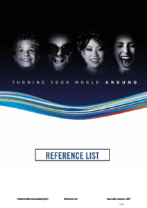 Vekoma Reference List 2017