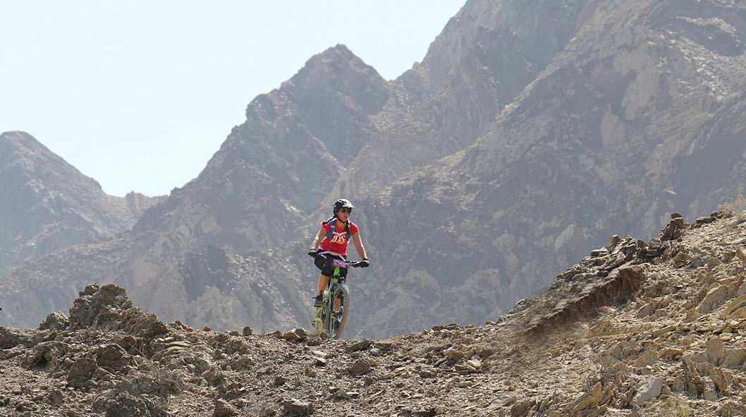 Adventure Tourism UAE Hatta Mountain Biking