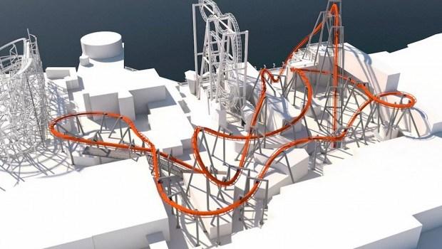 grona lund roller coaster