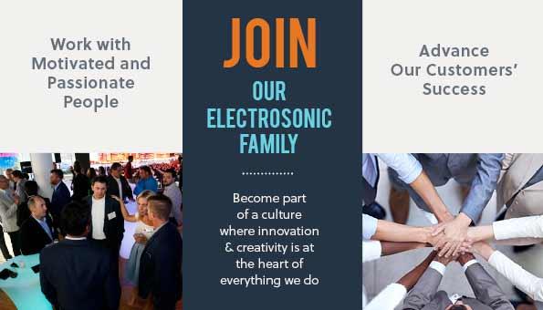 Join Electrosonic AV