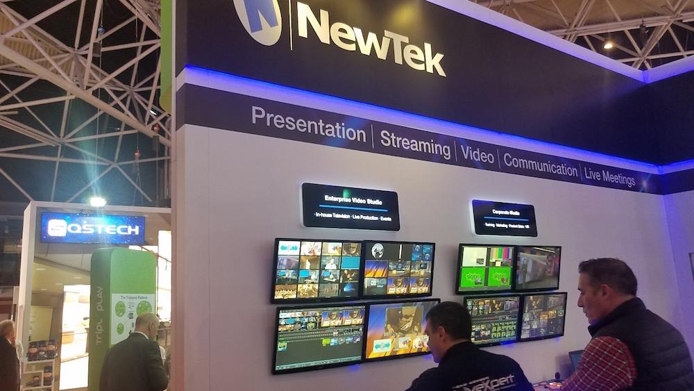 newtek booth ise 2017