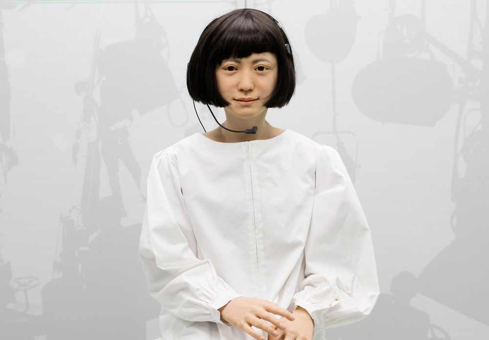 robots science museum kodomoroid