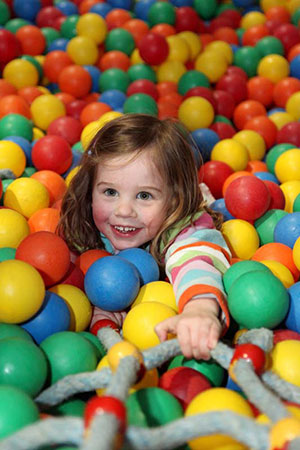 willows activity farm ballpit