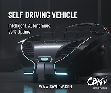 Self-driving vehicle Cavu Designwerks