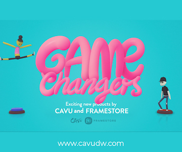 CAVU Game Changers Framestore