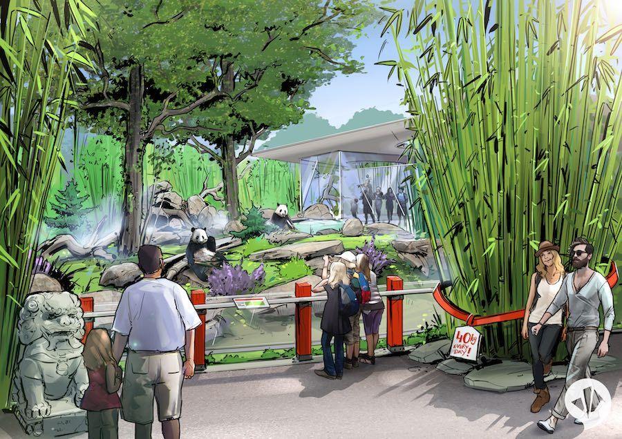 Chinese Pavilion panda Garden Zoo Berlin (c) dan pearlman