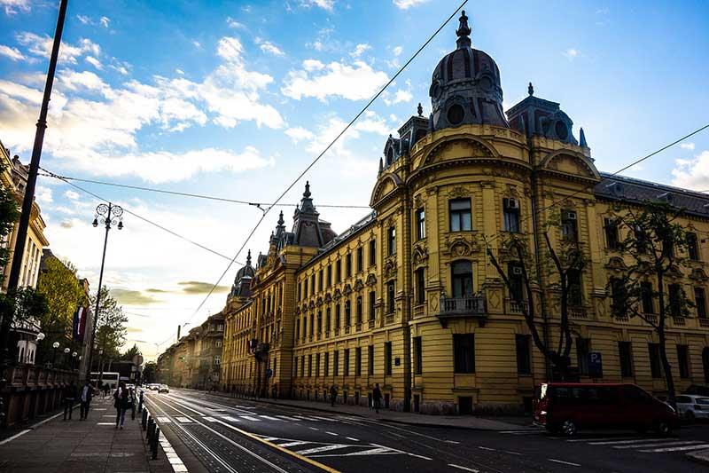 Croatia Experience Economy Zagreb Streets GODeX