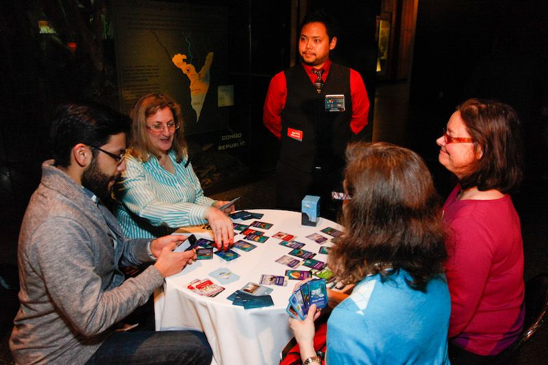 Game Night at the AMNH