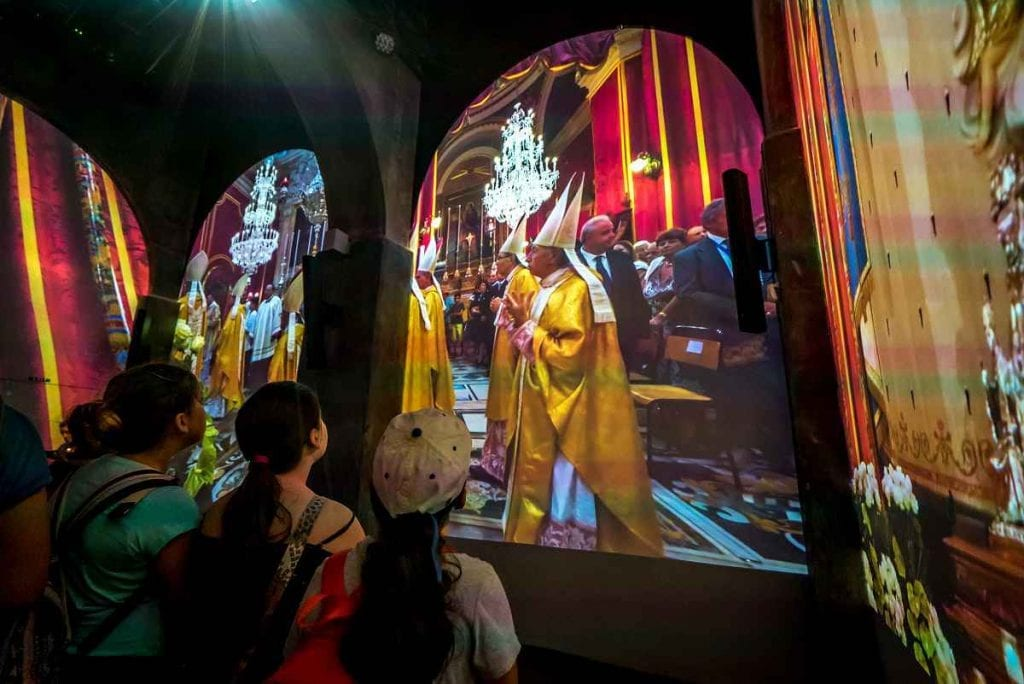 Sarner Creates Interactive Multimedia Visitor Centre and Show at Gozo's Historic Cittadella