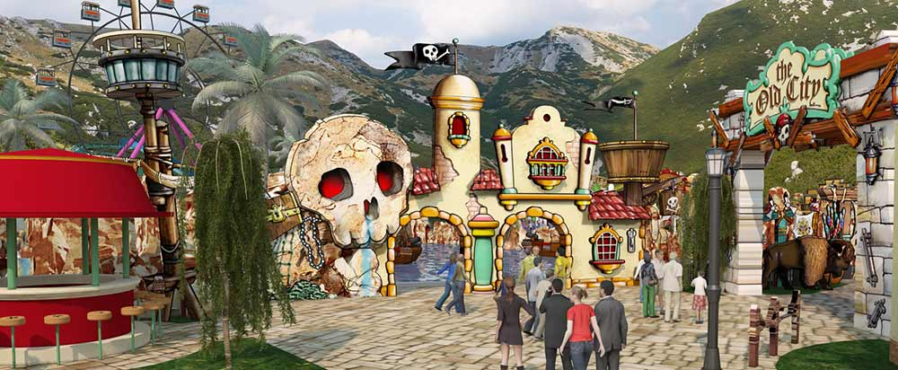 Croatia's First Theme Park - Park Mirnovec - Opens June 2017