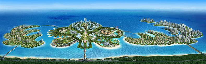 Emotion Media Factory to Create Multimedia Spectacular for Evergrande's Ocean Flower Island