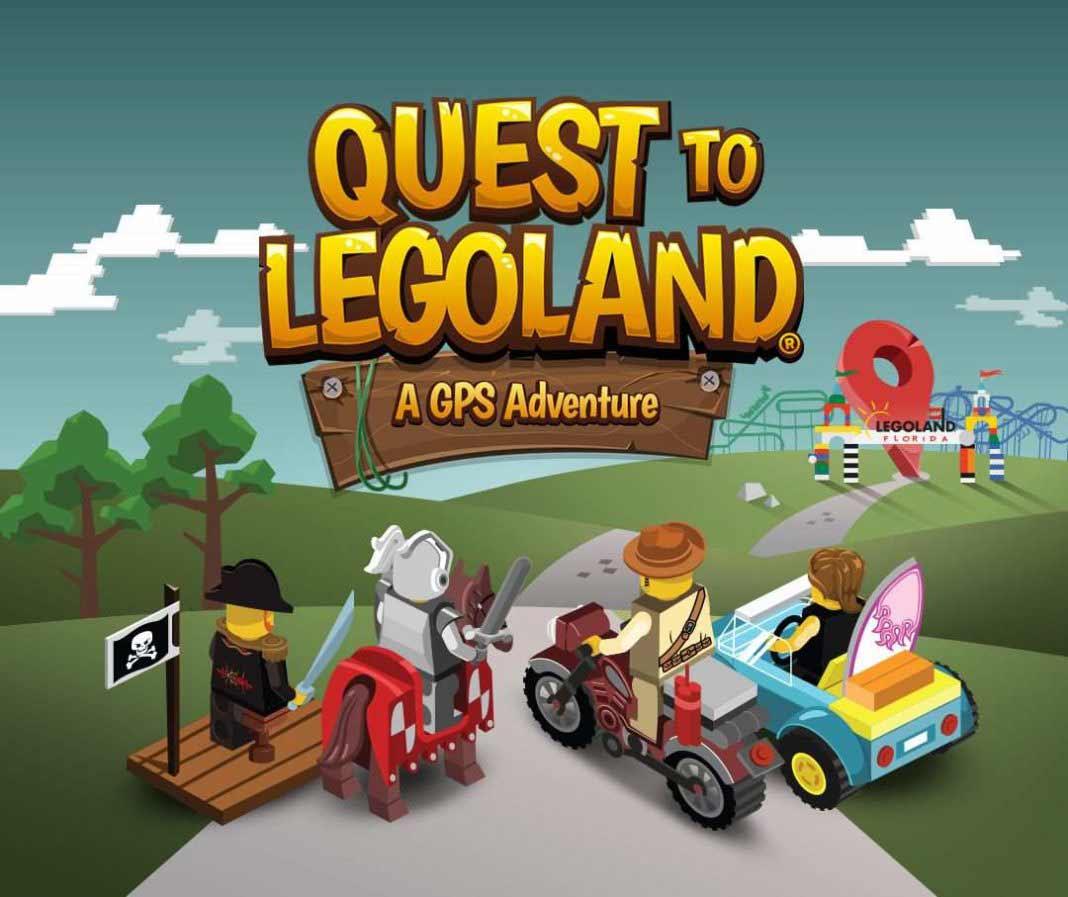 Quest to Legoland app