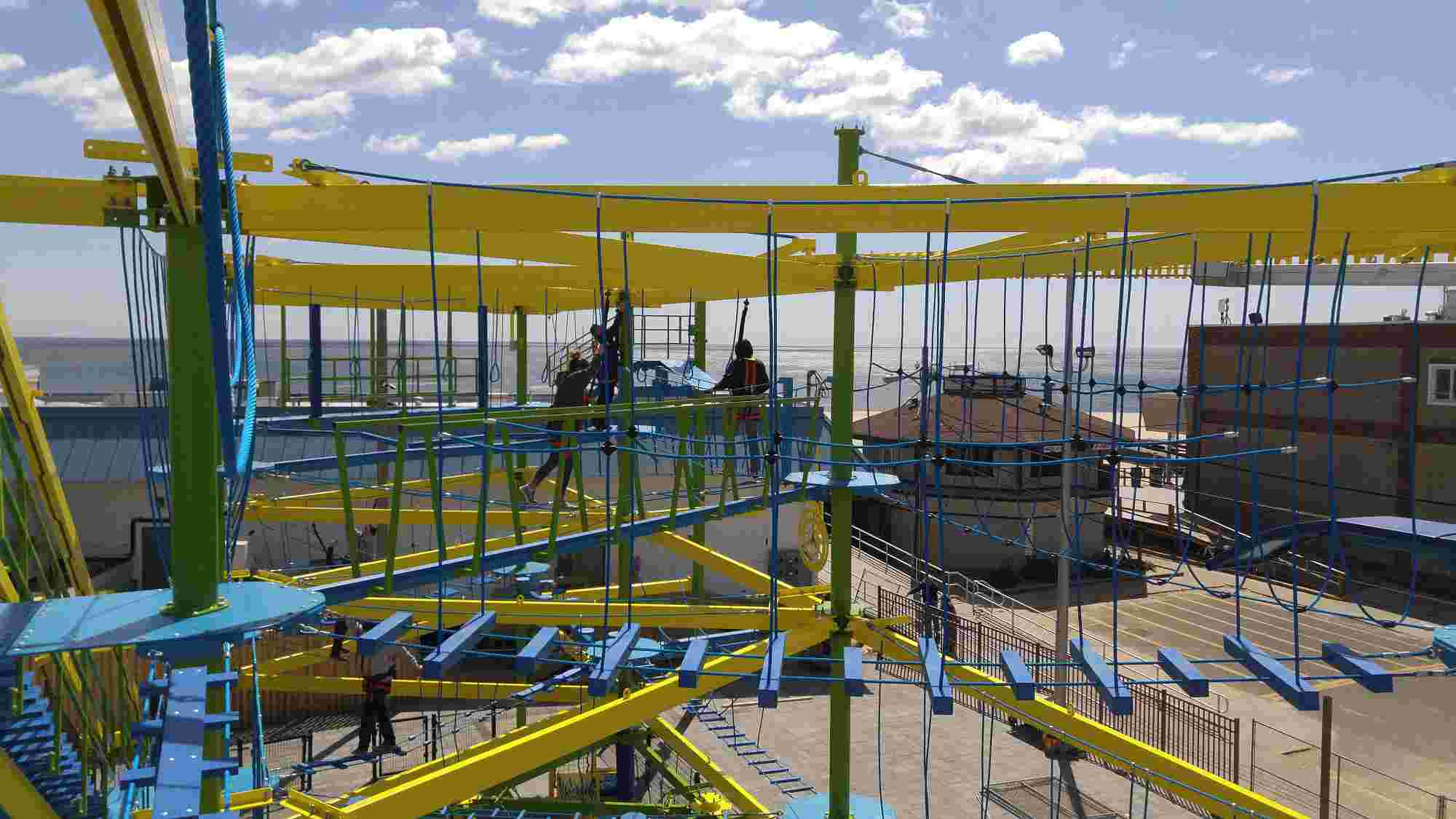 Ropes Courses Provides Sky Trail® Attraction to Florida's Seascape Towne Centre Development