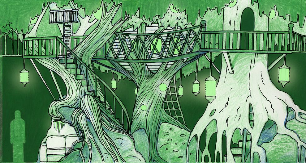 meow wolf Treehouses-concept-art-by-Caity-Kennedy-WEB (1)