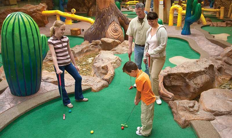 Triple Five West Edmonton Mall Golf
