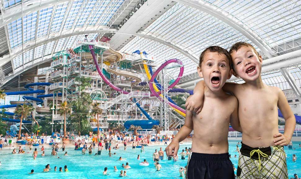 Triple Five West Edmonton Mall Waterpark