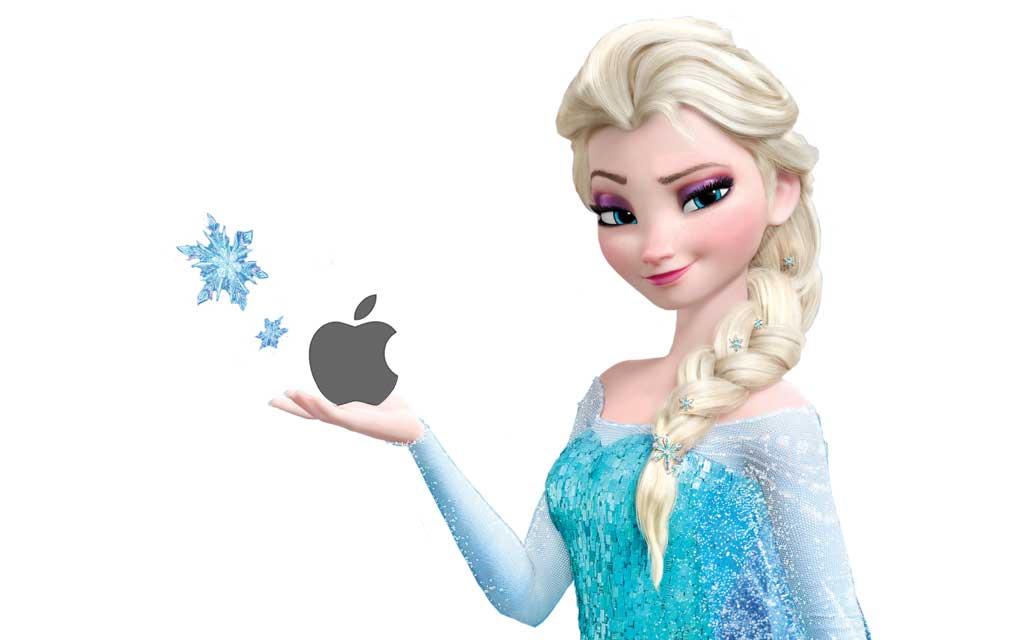 apple acquire disney elsa frozen
