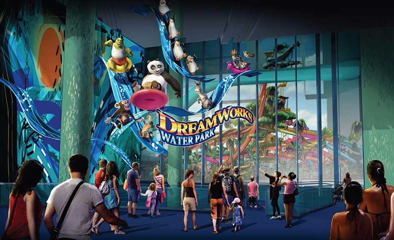Dreamworks waterpark Triple Five american dream
