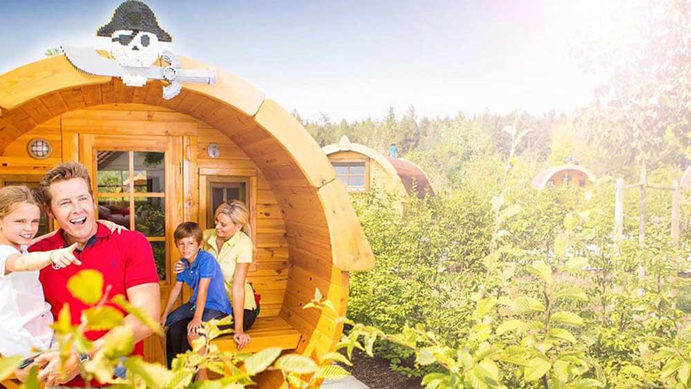 legoland windsor camping barrels