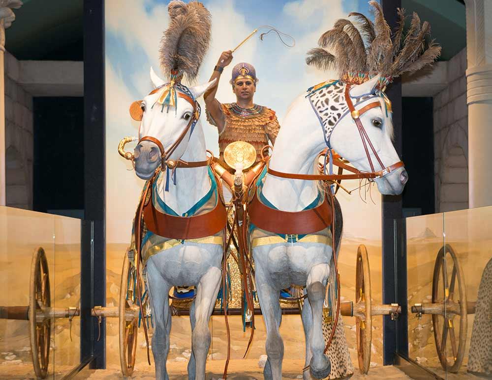 Milwaukee Public Museum King Tutankhamun Chariot