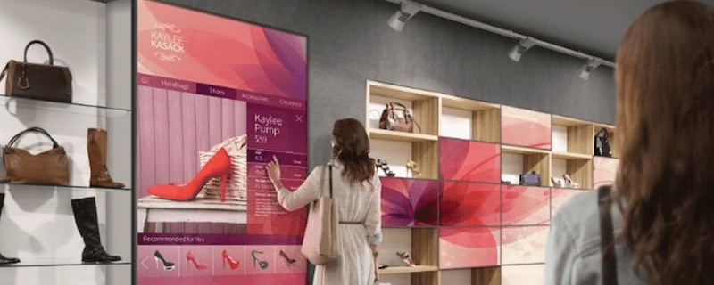 retail technology shopping touchscreen