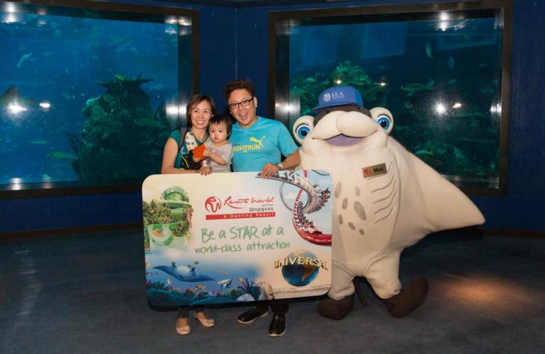 SEA Aquarium 10 millionth visitor