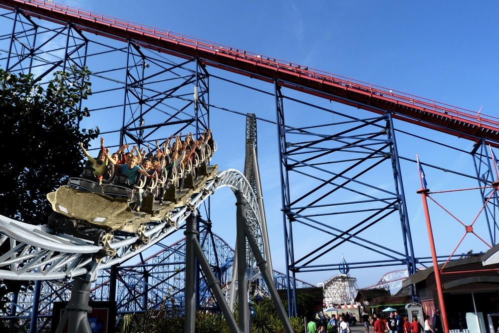 Blackpool Pleasure Beach New Launch Coaster Icon Mack Rides 2