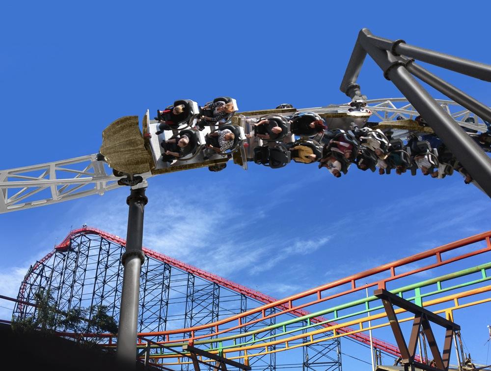 Blackpool Pleasure Beach New Launch Coaster Icon Mack Rides 1