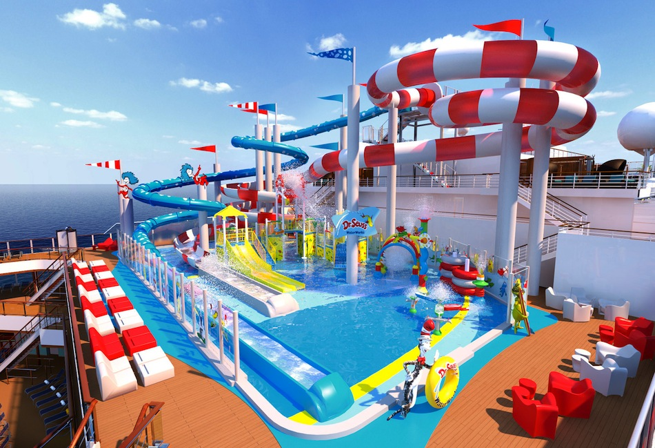 Dr Seuss WaterWorks planned for new Carnival cruise ship | blooloop