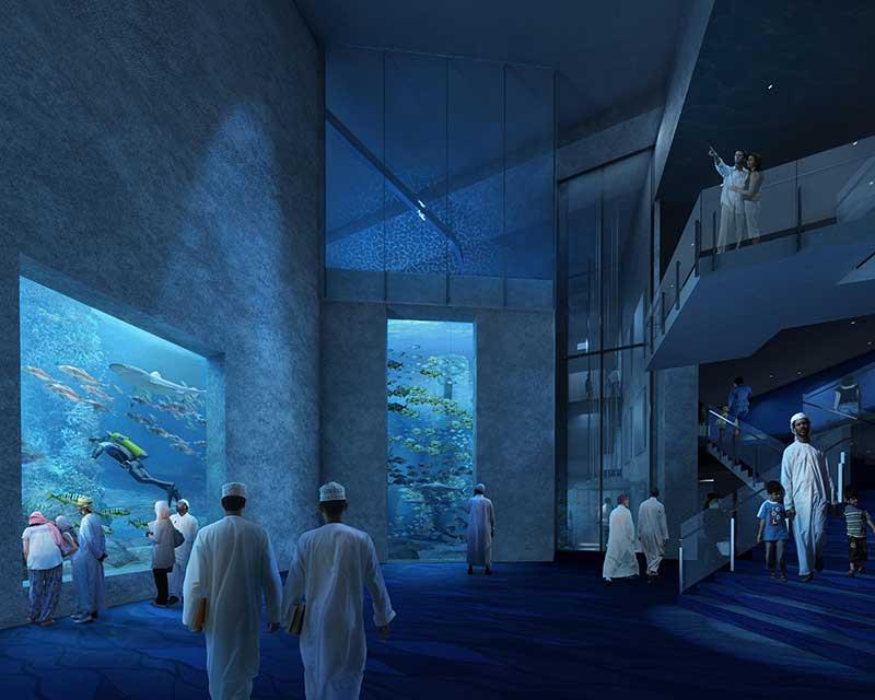 Chasm Oman aquarium TGI