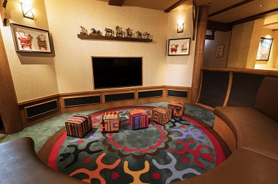Disney Explorers Lodge kids corner