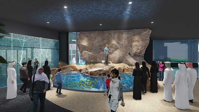 Fish Presentations Oman aquarium TGI