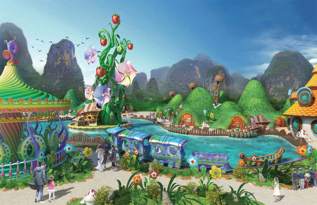 IDEATTACK Yangshuo Resorts World Kids Paradise