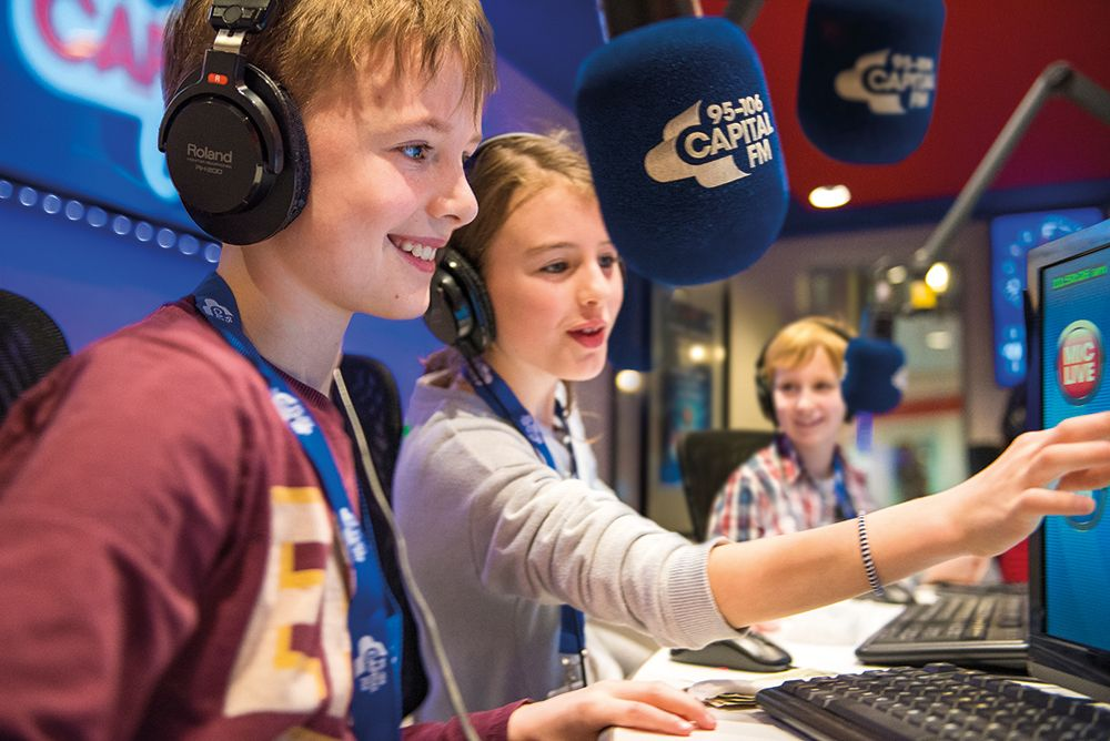 kidzania london radio work children
