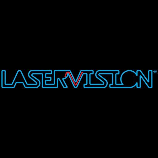 Laservision Mega Media Logo
