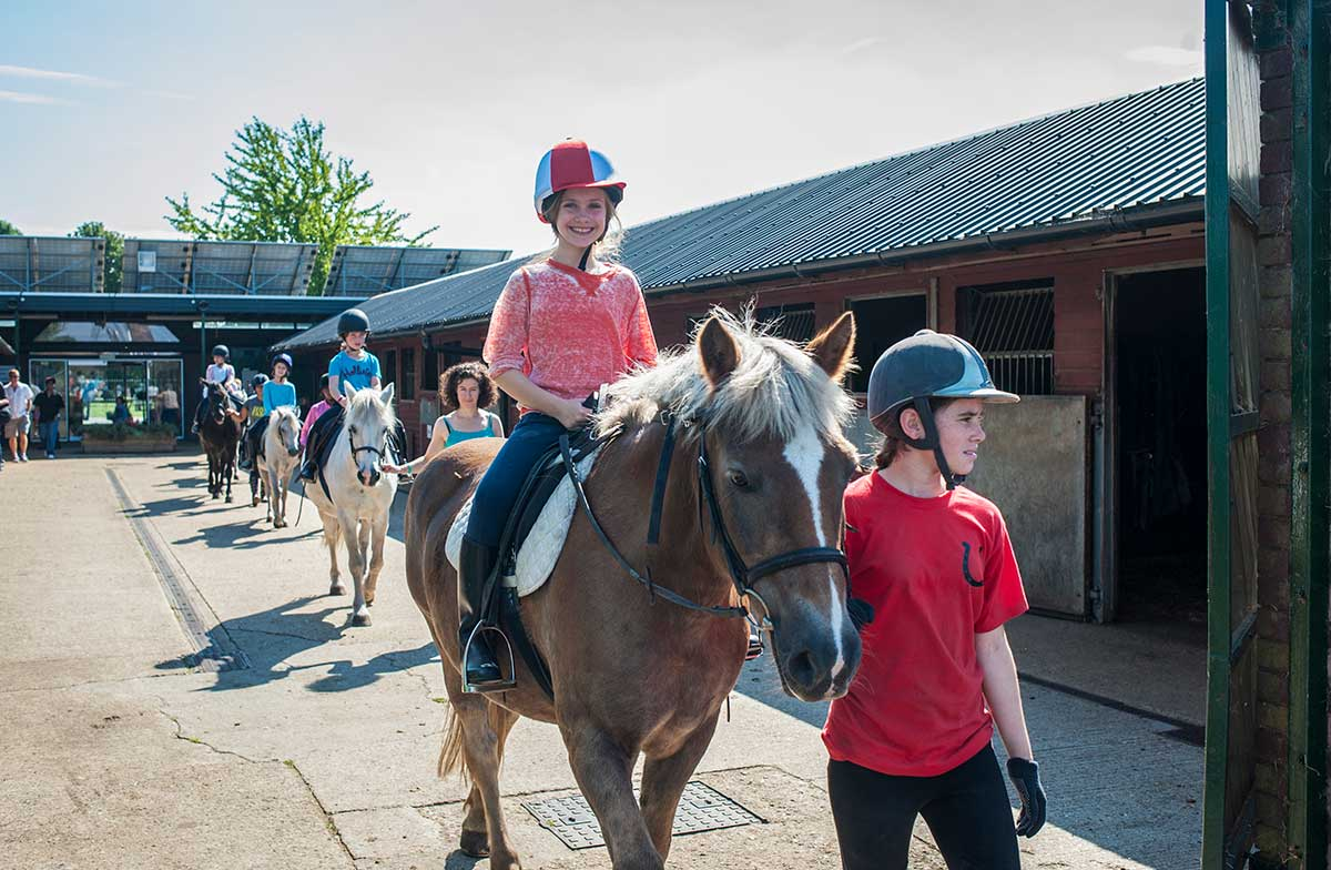 Vibrant Partnerships Lee Valley Riding Centre