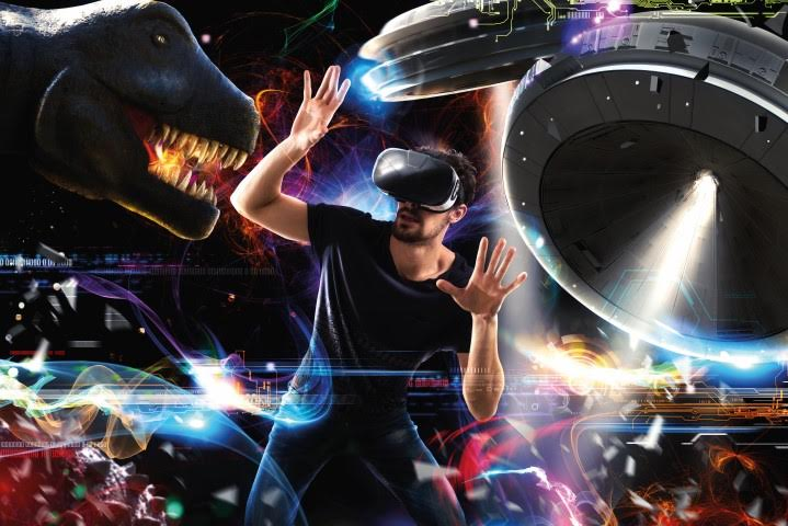 Virtual Reality Dinosaur Omnico
