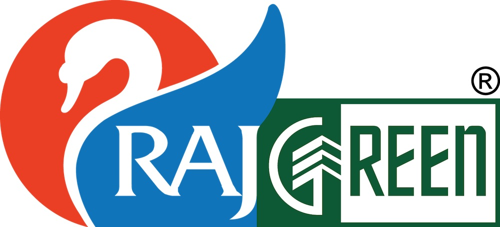 Rajgreen group amaazia waterpark logo