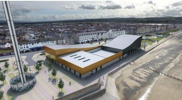 Rhyl Aquatic Centre waterpark-concept