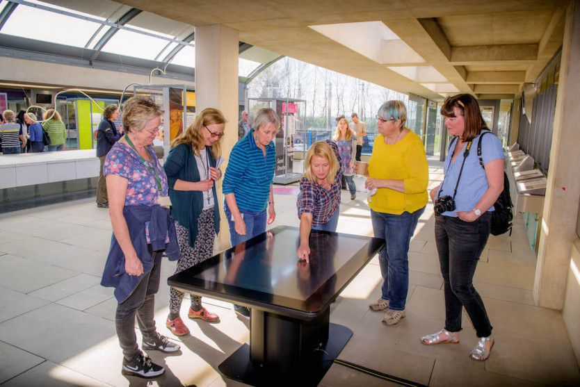 Wakehurst Interspectral Powers Interactive Secret Structures Exhibit at Millennium Seed Bank